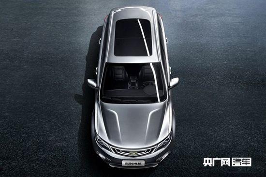 吉利新秀车型全新SUV车型博越 11月广州车展亮相